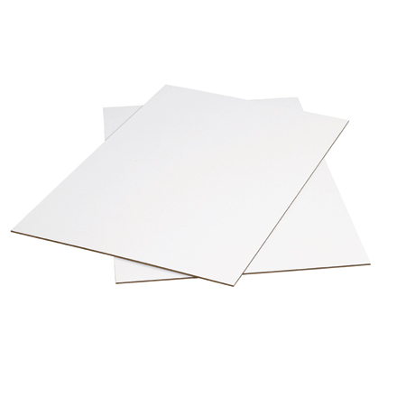 White Corrugated Sheets