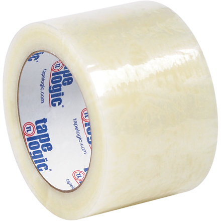 "3"" x 110 yds. Clear (6 Pack) Tape Logic<span class='rtm'>®</span> #6651 Cold Temperature Tape"