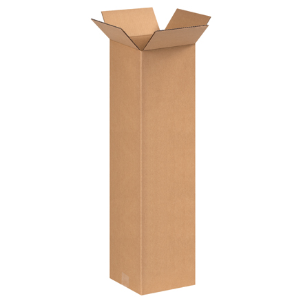 "9 x 9 x 30"" Tall Corrugated Boxes"