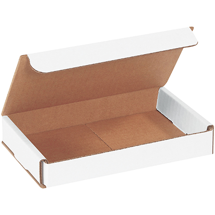 "7 x 4 x 1"" White Corrugated Mailers"